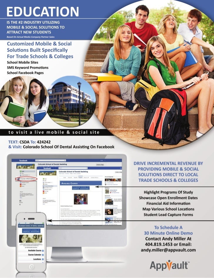 Mobile & Social Solutions for Schools & Colleges
