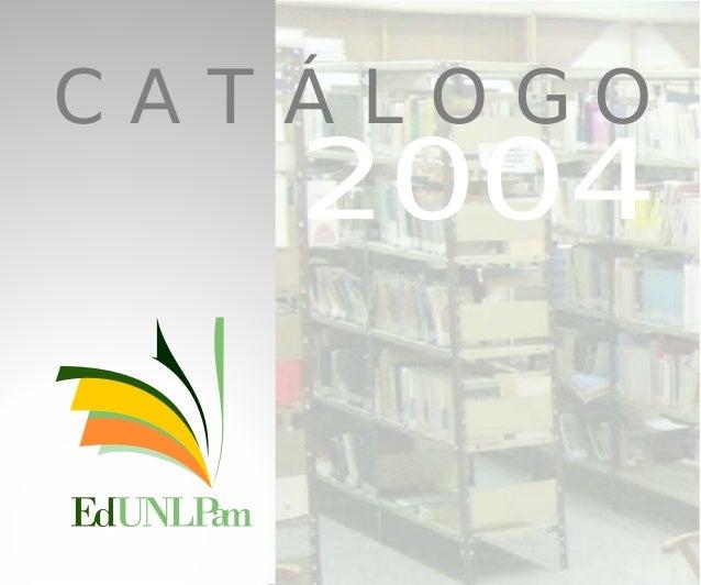 C A T Á L O G O 2004