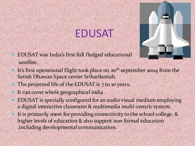 scope of edusat Edusat iv(3:15-4:15 pm) cec edusat network north east edusat network rti about the nature and scope of physical geography – part-ii.