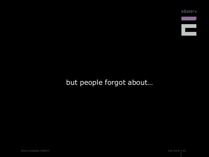 <ul><li>but people forgot about… </li></ul>