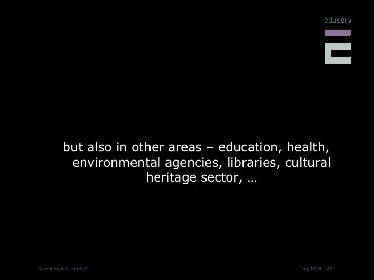 <ul><li>but also in other areas – education, health, environmental agencies, libraries, cultural heritage sector, … </li><...