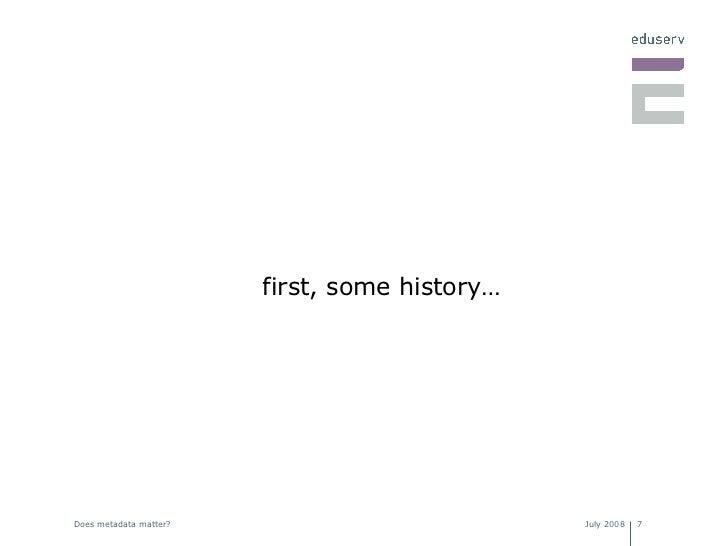 <ul><li>first, some history… </li></ul>