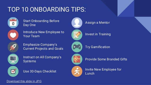 10 Tips on New Hire Orientation & Onboarding