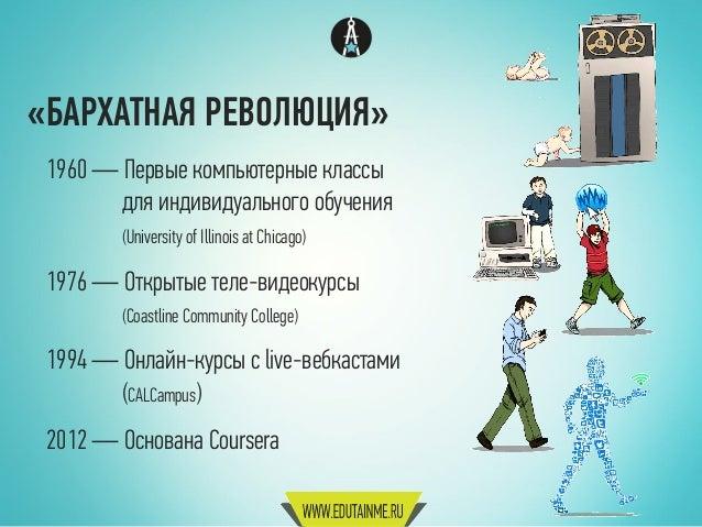 Edutainme: будущее MOOC (версия 2) Slide 3