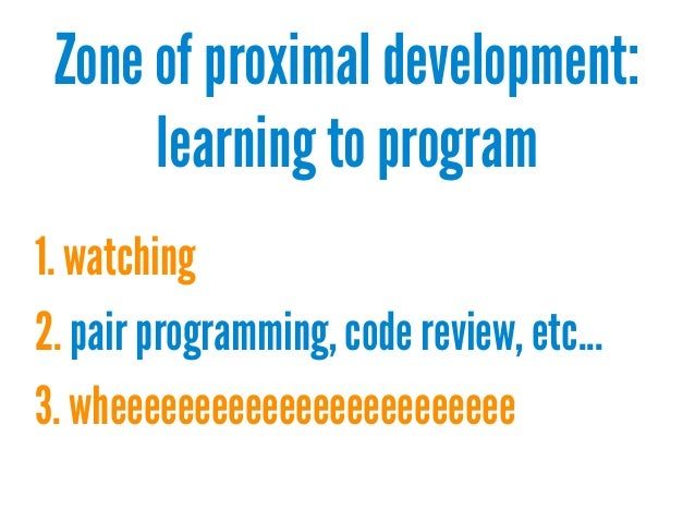 the zone of proximal development and its implications for learning and teaching The current paper examines the instructional implications of vygotsky's (1978) seminal notion of zone of proximal development, originally developed to account for the learning potential of children, and investigates zpd applications to the concept of teacher professional development specific .