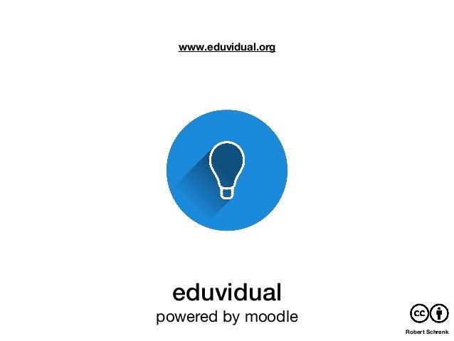 eduvidual powered by moodle www.eduvidual.org Robert Schrenk