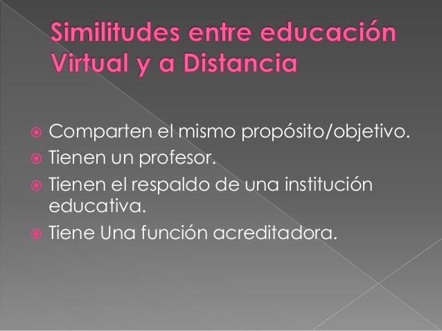 Edu virtual y a distancia