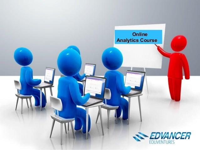 OnlineOnline Analytics CourseAnalytics Course