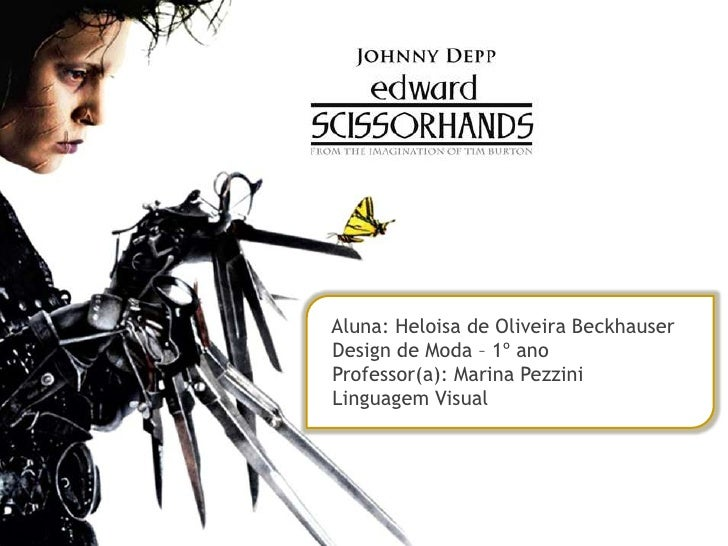 Aluna: Heloisa de Oliveira Beckhauser<br />  Design de Moda – 1º ano  Professor(a): Marina Pezzini  Linguagem Visual<br />