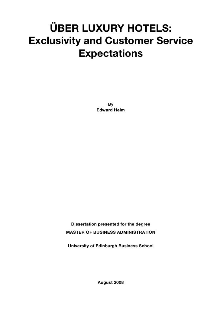 edinburgh university dissertation archive