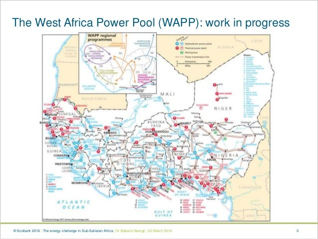 Africa appg the energy challenge in sub saharan africa edward george 3 3 the west africa power pool sciox Images