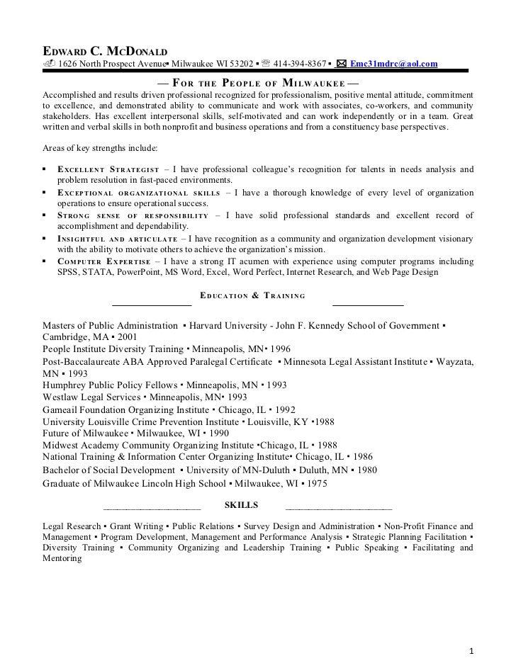 edward resume