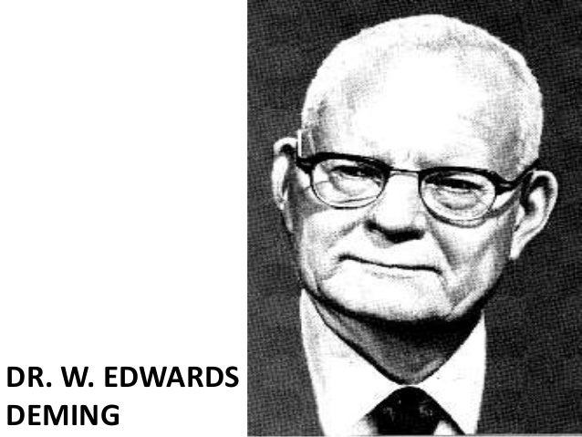Edwards deming (quality guru)