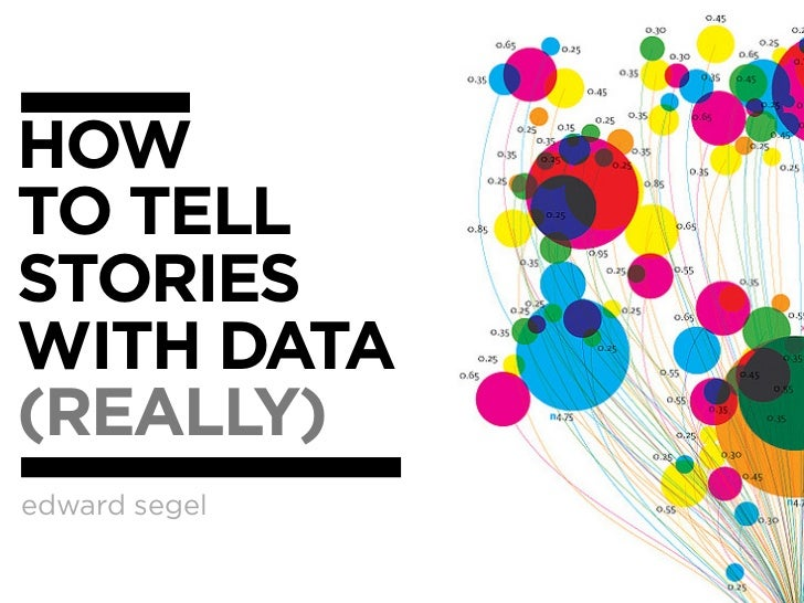 HOWTO TELLSTORIESWITH DATA(REALLY)edward segel
