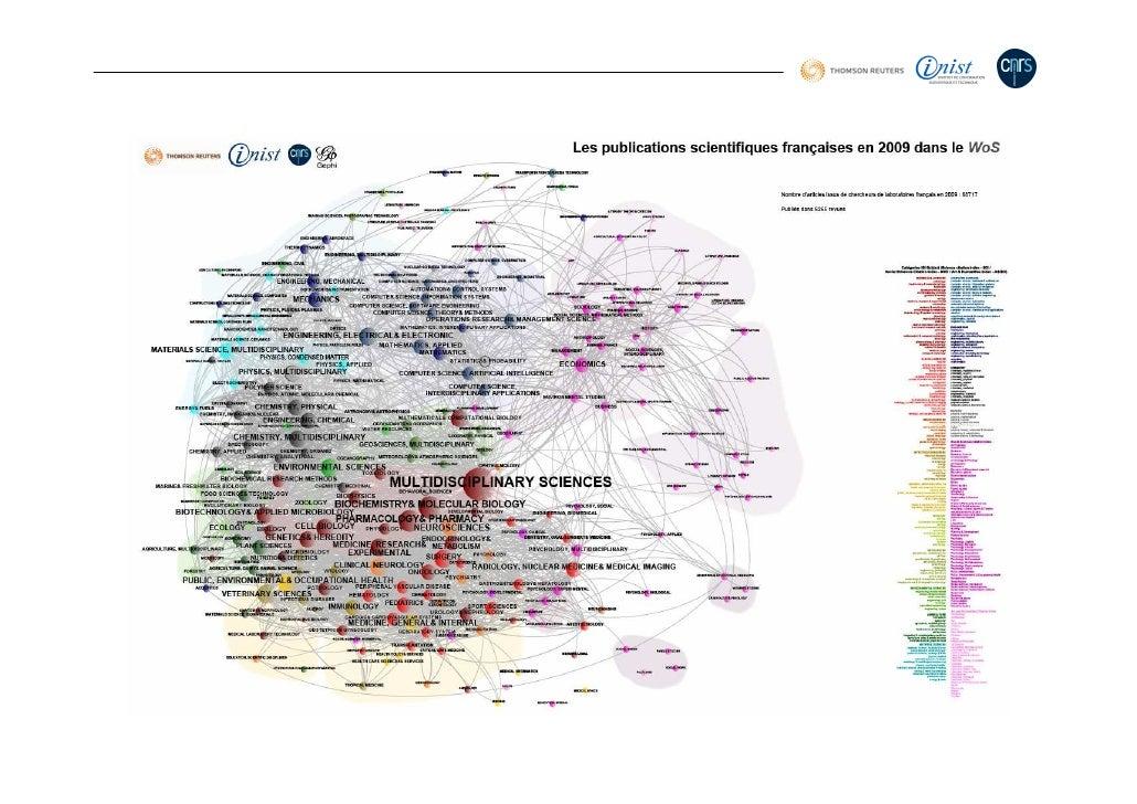 Indice/indicateur 1) Des mots et des auteurs : la géographie sociale et intellectuelle en Chimie en France de 2000 à 2010 ...