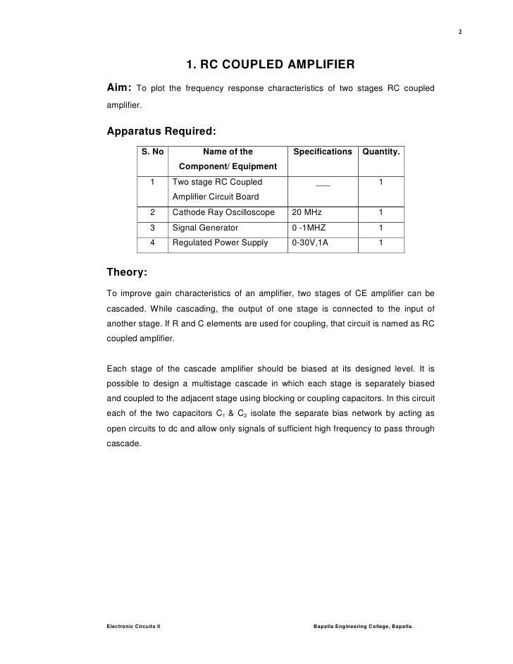 Eca Lab Manual Pdf