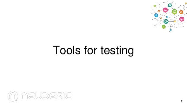 Tools for testing  7