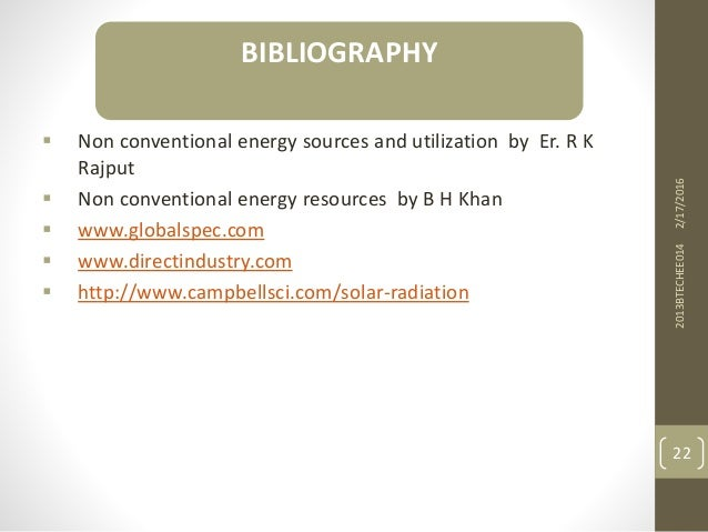  Non conventional energy sources and utilization by Er. R K Rajput  Non conventional energy resources by B H Khan  www....