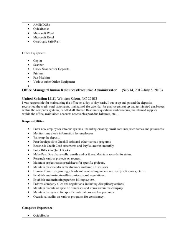 Jessica Carr Current Resume April 2015