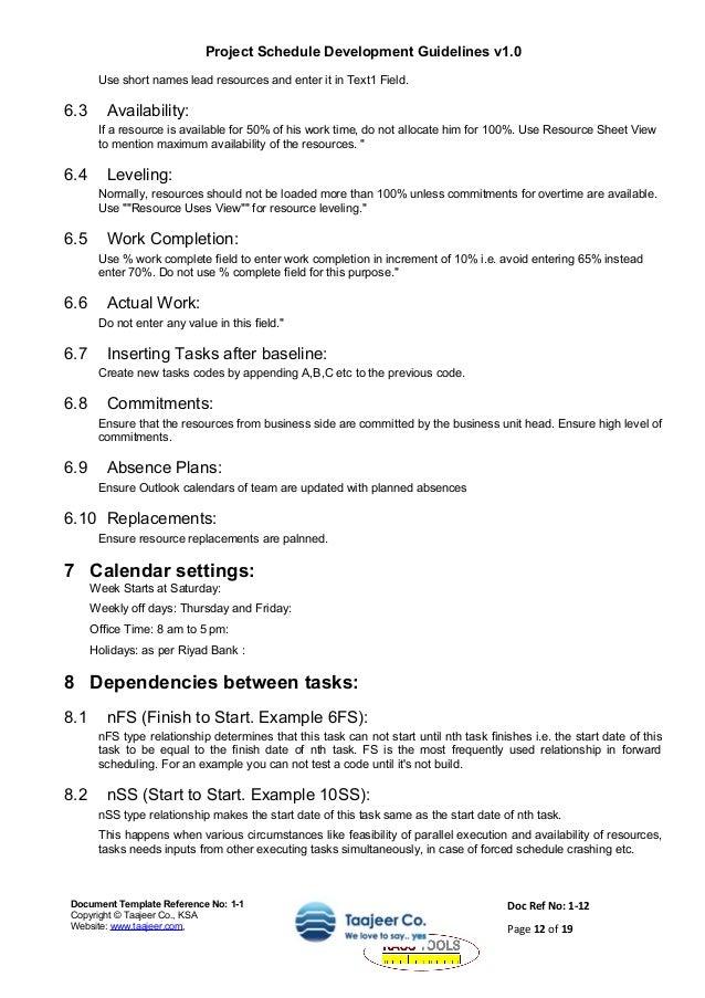 work availability sheet