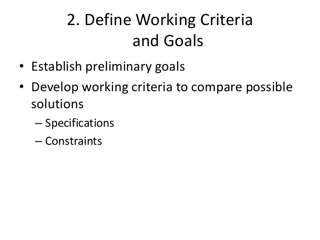 7. Make the Decision  • Evaluate the results of testing to determine  the solution to use  • If none of the solutions are ...