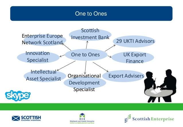 One to Ones Enterprise Europe Network Scotland Innovation Specialist Intellectual Asset Specialist Organisational Developm...