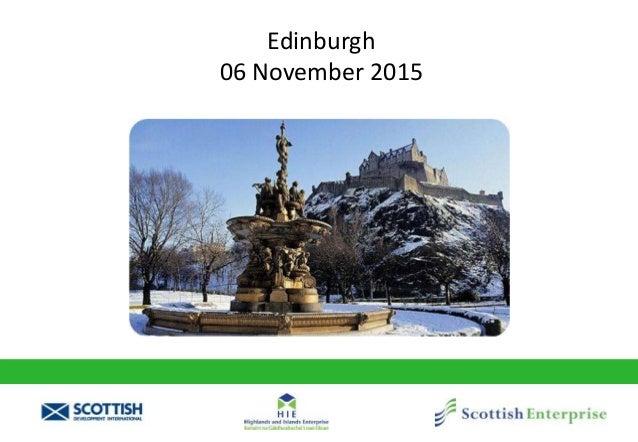 Edinburgh 06 November 2015