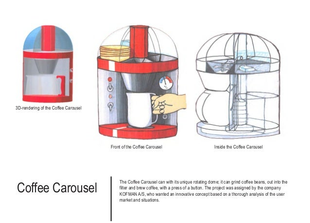 Coffee Carousel The Coffee Carousel can with its unique rotating dome; it can grind coffee beans, out into the filter and ...