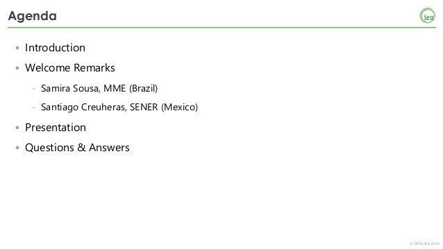 IEA Webinar: Energy Efficiency Market Report 2018 (Portuguese version) Slide 3