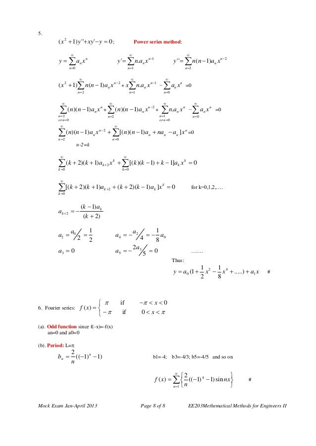 Engineering mathematics 2 questions answers 8 malvernweather Choice Image