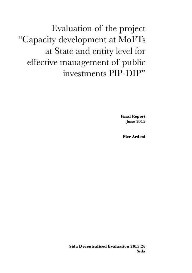 Authors: Pier Ardeni The views and interpretations expressed in this report are the authors' and donot necessarily reflec...