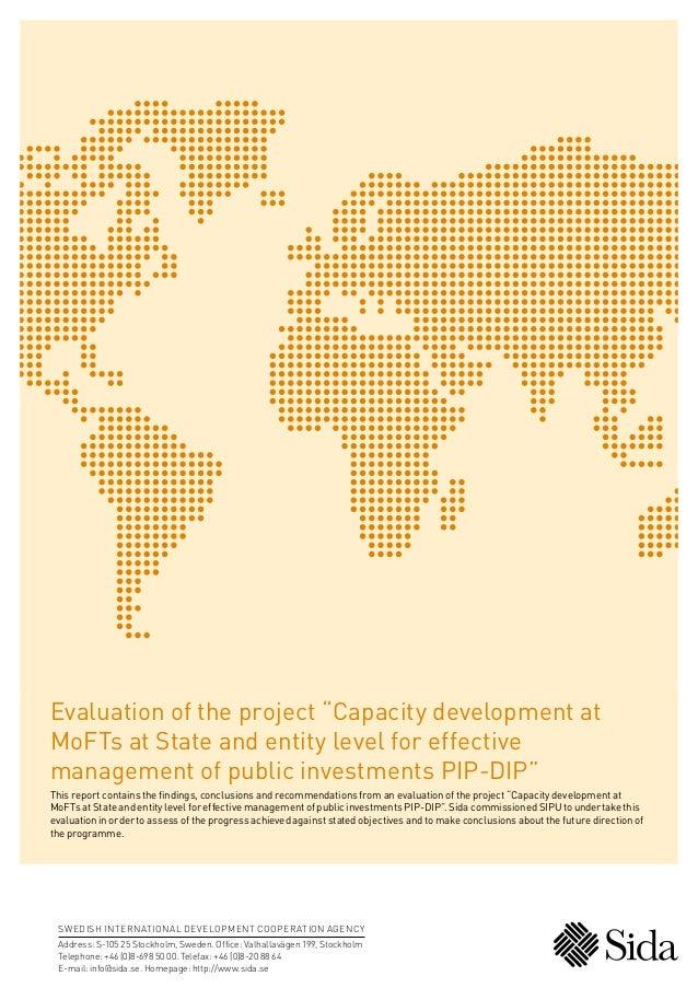 PIP-DIP_Evaluation_Report