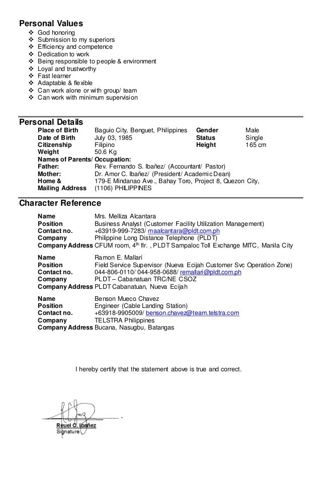 reuel ibanez resume u0026 39  new
