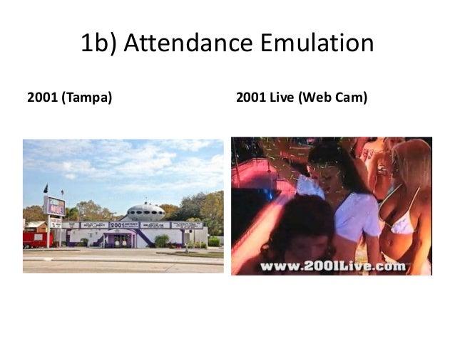1b) Attendance Emulation 2001 (Tampa) 2001 Live (Web Cam)