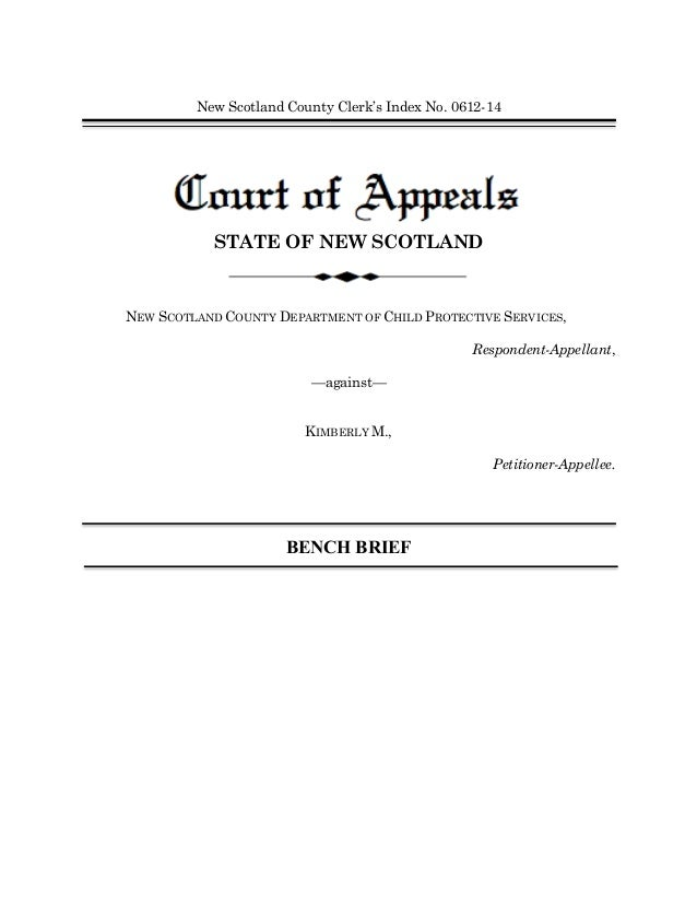 2014 Family Law Bench Brief