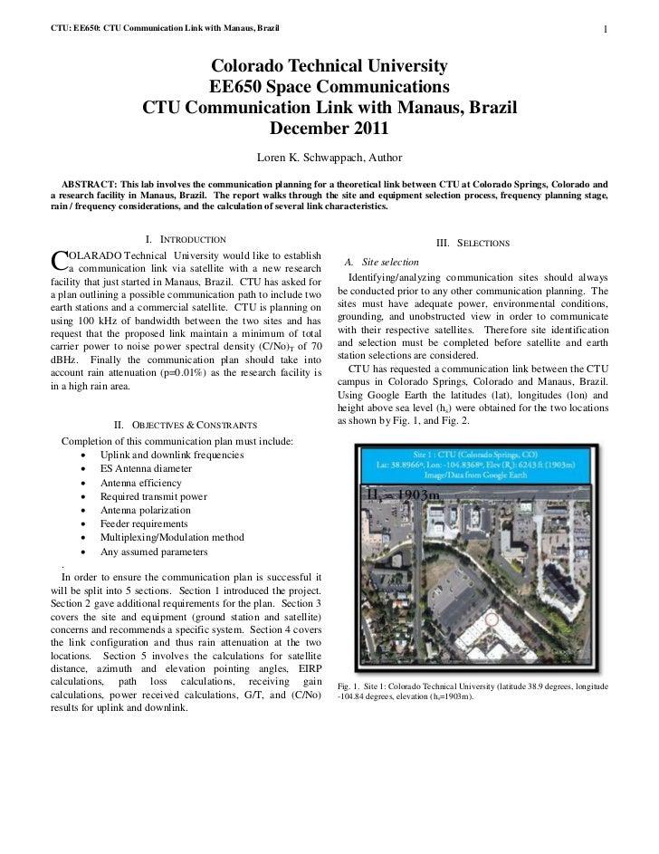 Ee650 comm plan_report_schwappach