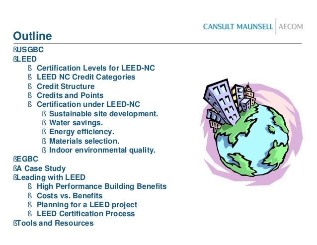 Leed presentation for Leed benefits