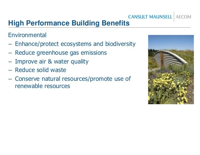 Leed presentation for Benefits of leed certified buildings