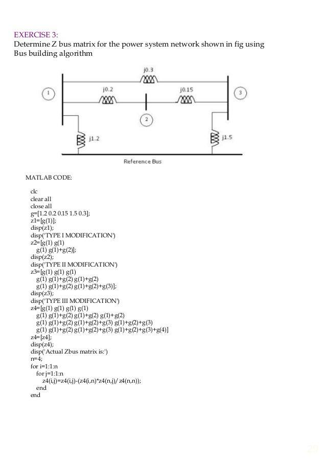 EE6711 Power System Simulation Lab manual