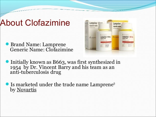 clofazimine 100mg tab