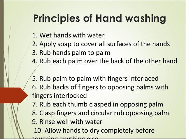 training for hygiene promotion