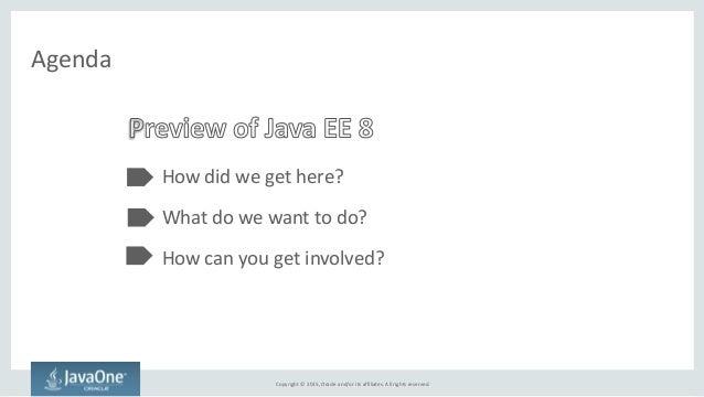 What's coming in Java EE 8 Slide 2