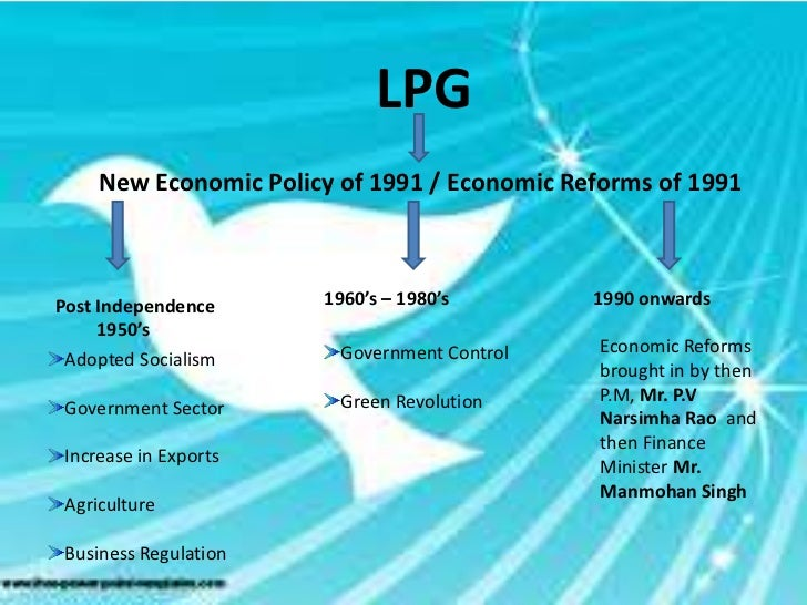 Write a note on indias economic reforms after 1991