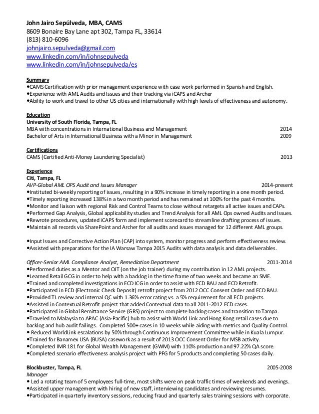 certifications on resumes