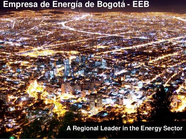 11Empresa de Energía de Bogotá - EEBA Regional Leader in the Energy Sector
