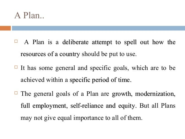 role of economic planning in indian context Ijaz ahmad & prof dr ihsan ullah bajwa regional development planning issues and realities 41st isocarp congress 2005 3 examination of a number of physical, social.
