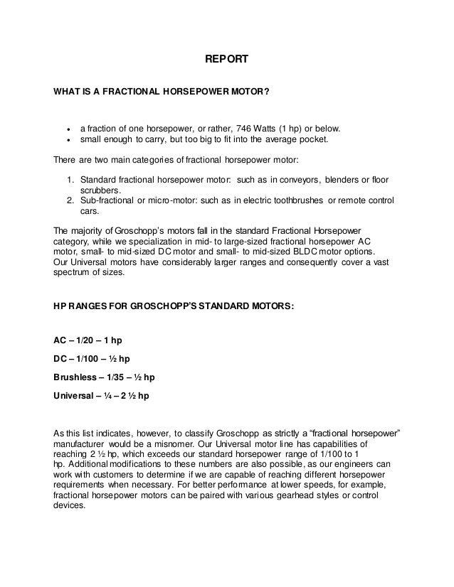 Motor report for Motor carrier identification report