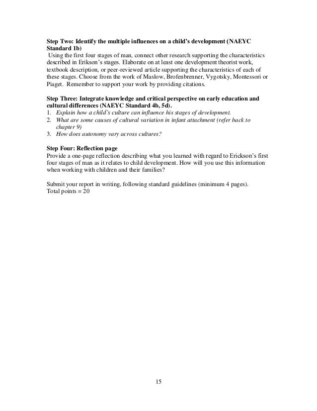 naeyc standard 5 Naeyc standards summary  standard 5 using content  western piedmont community college 1001 burkemont avenue morganton, nc 28655 (828) 448-3500.
