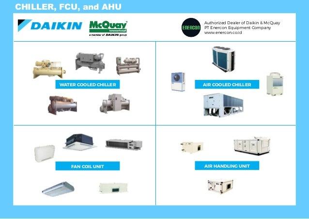 Enercon Daikin Product Line Up