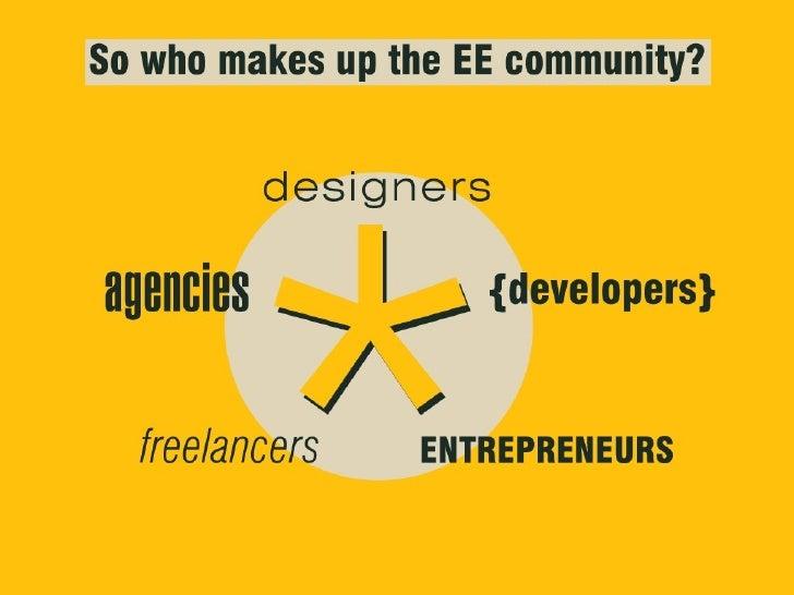 ExpressionEngine, Entrepreneurship & Economics